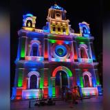 Roban luminarias de la catedral San Jerónimo de Montería