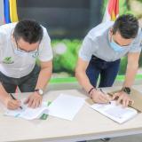 En Montería firman convenio para erradicar el analfabetismo
