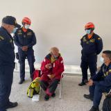 Armada rescata ciudadano extranjero en isla salamanca