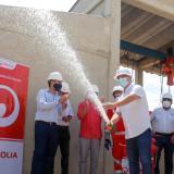 Inauguran línea de aducción para llevar más agua a Sincelejo