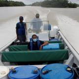 El desafío de llevar las vacunas a la selva del Pacífico colombiano