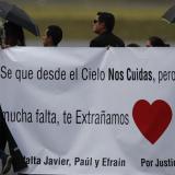 Familiares de periodistas ecuatorianos, inconformes con sentencia a acusado