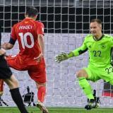 Macedonia da el golpe en Europa al derrotar a 2-1 a Alemania