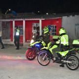 4.000 uniformados continúan caravanas de seguridad en Barranquilla