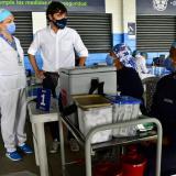 Dos escenarios deportivos, nuevos puntos de vacunación