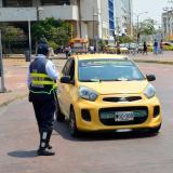 Este es el nuevo pico y placa para particulares y taxis en Cartagena