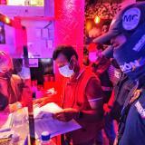 Covid-fiestas y multas, a la orden del día en Cartagena