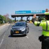 Ciudadanos mostraron buen comportamiento en las vías: Tránsito del Atlántico