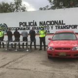 Capturan a cuatro sujetos que cargaban cinco armas de fuego en La Guajira
