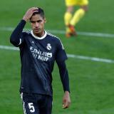 Varane, baja del Madrid para enfrentar al Liverpool tras positivo por covid