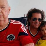 Carlos Vives despide a su padre