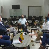 Cartagena y Dinamarca acuerdan trabajar en proyectos ambientales