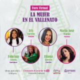 Foro virtual 'La mujer en el vallenato'