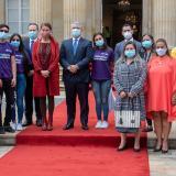 Presidente Duque exalta a víctimas en el Día de la Solidaridad