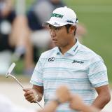 Hideki Matsuyama da  un golpe en el Augusta