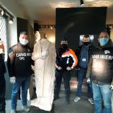 La obra italiana ''Togatus'' es encontrada en Bruselas