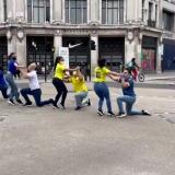 Colombianos mostraron sus mejores pasos al ritmo del Grupo Niche en Londres