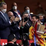 Laporta está convencido de que Lionel Messi se queda en Barcelona