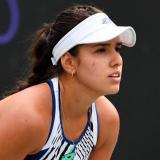 María Camila Osorio cayó y se queda a un paso de la final de Charleston