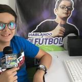 Miguelito se abre cancha en el periodismo deportivo hablando de fútbol