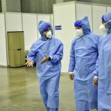 Puerta de Oro reabre sus puertas como hospital para pacientes covid