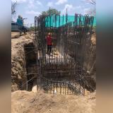 En Galapa avanzan obras de la estación de bombeo
