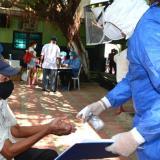Comenzó la búsqueda activa de contagios en barrios en Soledad