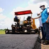 78% de avance en la vía Magangué-Achí, en Bolívar: Blel