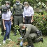 En Córdoba siembran más de 200 árboles por el Día de la Tierra