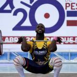 Diego Betancur gana tres oros en los 89 kg del Panamericano de Pesas