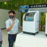 Donan 34 concentradores de oxígeno para pacientes covid