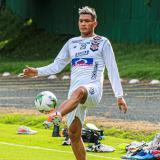 Teófilo Gutiérrez, baja ante Santa Fe en la Libertadores