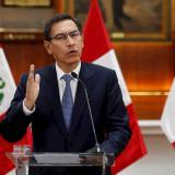 El expresidente peruano Martín Vizcarra da positivo en covid-19
