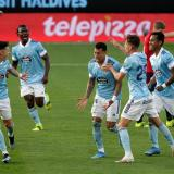 El Celta de Vigo derrotó al Osasuna 2-1