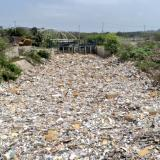 1.200 toneladas de basuras fueron retiradas de los arroyos