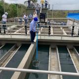Avanzan obras en nuevo acueducto de Turbana, Bolívar
