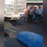 Muere hombre arrollado por camión en el barrio San Roque