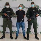 Capturan a señalado de cobrar millonarias extorsiones a ganaderos en Córdoba