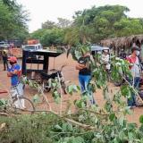 Bloquean vía en el Magdalena por mal servicio de energía