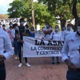 Gabinete de Carlos Caicedo protestó por bloqueo de Asamblea a proyectos