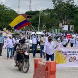 Trabajadores marcharon en paz en la Región Caribe
