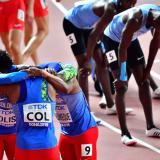 Colombia cerró sexta en la final del Mundial de Relevos 4x400