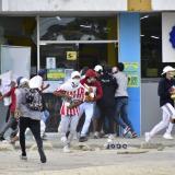 Barraquilla presenta nueva jornada de protestas