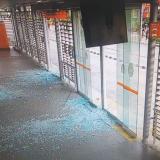 Transcaribe suspende este martes tres estaciones víctimas de vandalismo
