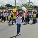 Marchantes se toman las capitales del Caribe