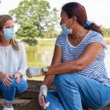 """""""Nuestro llamado en mayo es a no llevarle el virus a mamá"""": Elsa Noguera"""