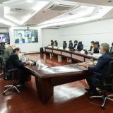 Presidente Duque se reúne con exministros y exalcaldes