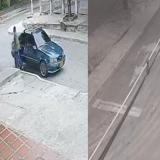 Atraco en el barrio san Nicolás queda registrado en video