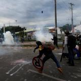 Flip denuncia que policía disparó perdigones a periodistas en protesta