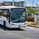 Transmetro suspende nuevamente servicios por marchas